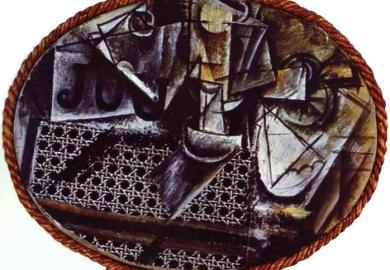 Still Life With Chair Caning Picasso