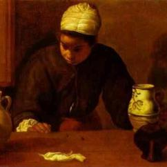 Vulcan Kitchen Pictures Of Wood Cabinets Diego Velázquez. Maid With The Supper At Emmaus.