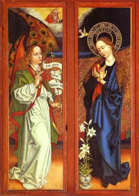 Martin Schongauer The Annunciation