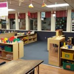 The age 3 classroom is specifically designed for that age group.