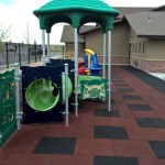 Our two year old playground is perfect for toddlers to play safely.