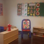 Your kids will love the activities in the 2 year old playroom.