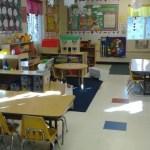 We offer child care for pre-K children.