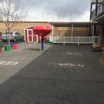 Older children will love our playground.