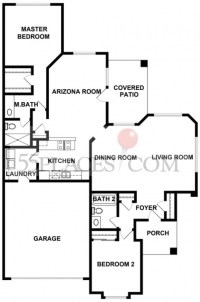 Floor Plans For Patio Homes | House Floor Plan Ideas