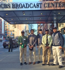 Field Trip to CBS Broadcast