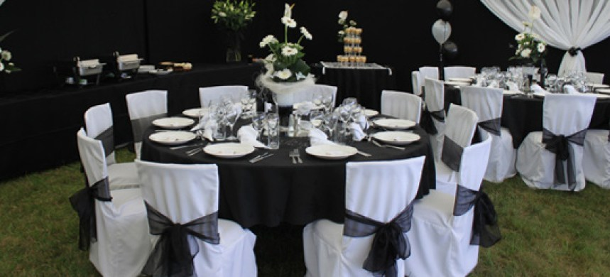 Wedding Marquee Furnishings