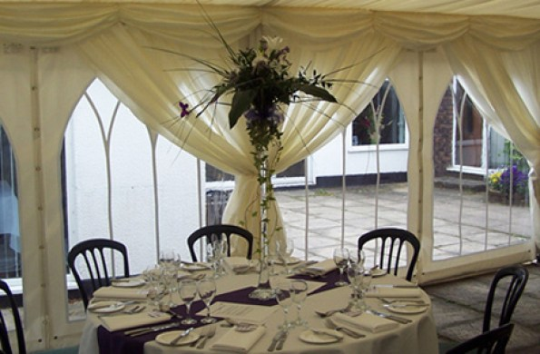 Marquees with Windows