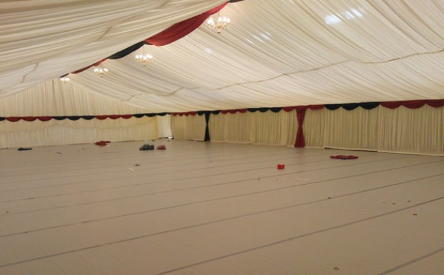 Large Marquee With Flooring