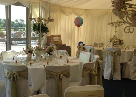 Luxury Marquee Interior