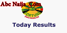 Fortune thursday result for yesterday 05-09-2019