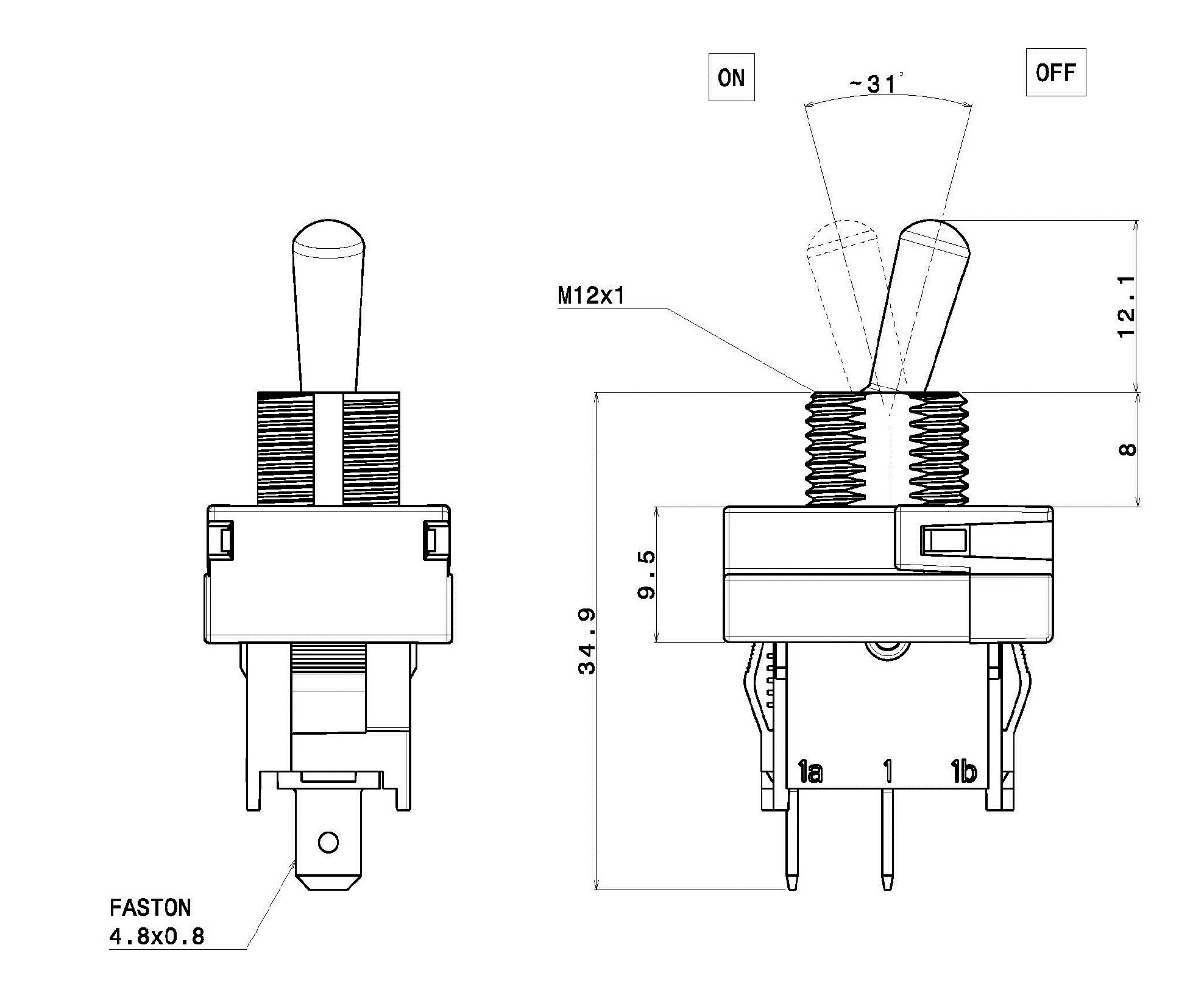 Spdt Toggle Switch Wiring Diagram Tab 4