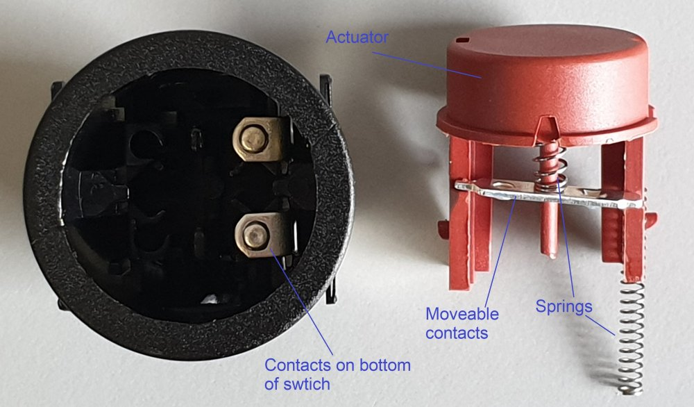 medium resolution of internal workings of a push button switch