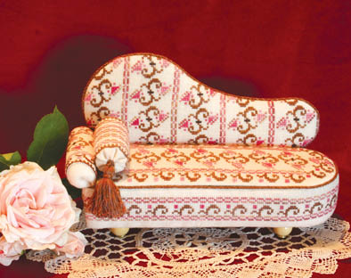 click here to view larger image of Victorian Memories Chaise Lounge (chart)