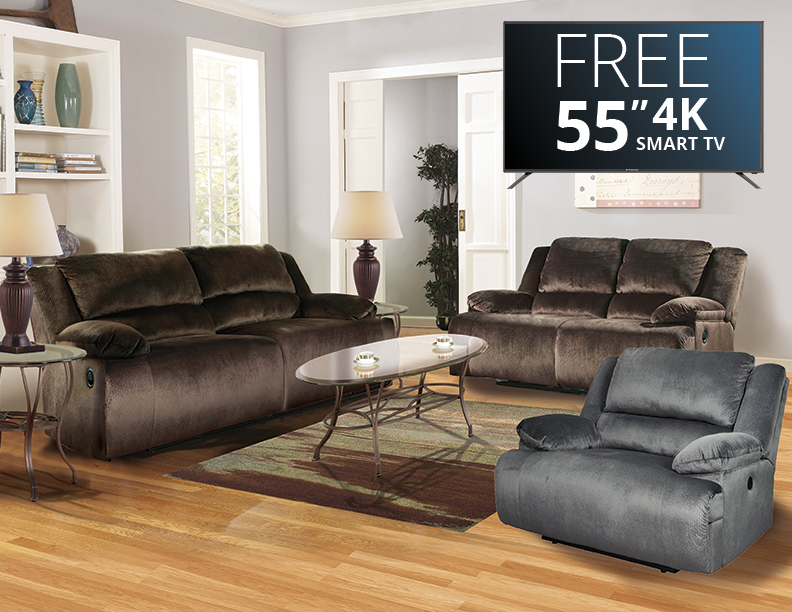 living room package with tv hammock packages abc warehouse eight piece reclining furniture