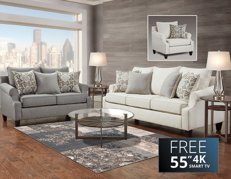 living room package with tv small interior design photos india packages abc warehouse tristen collection eight piece furniture
