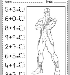 Addition Partial Sums Worksheet   Printable Worksheets and Activities for  Teachers [ 1754 x 1240 Pixel ]