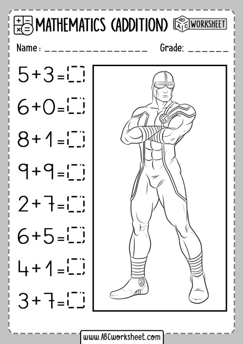 small resolution of Addition Partial Sums Worksheet   Printable Worksheets and Activities for  Teachers