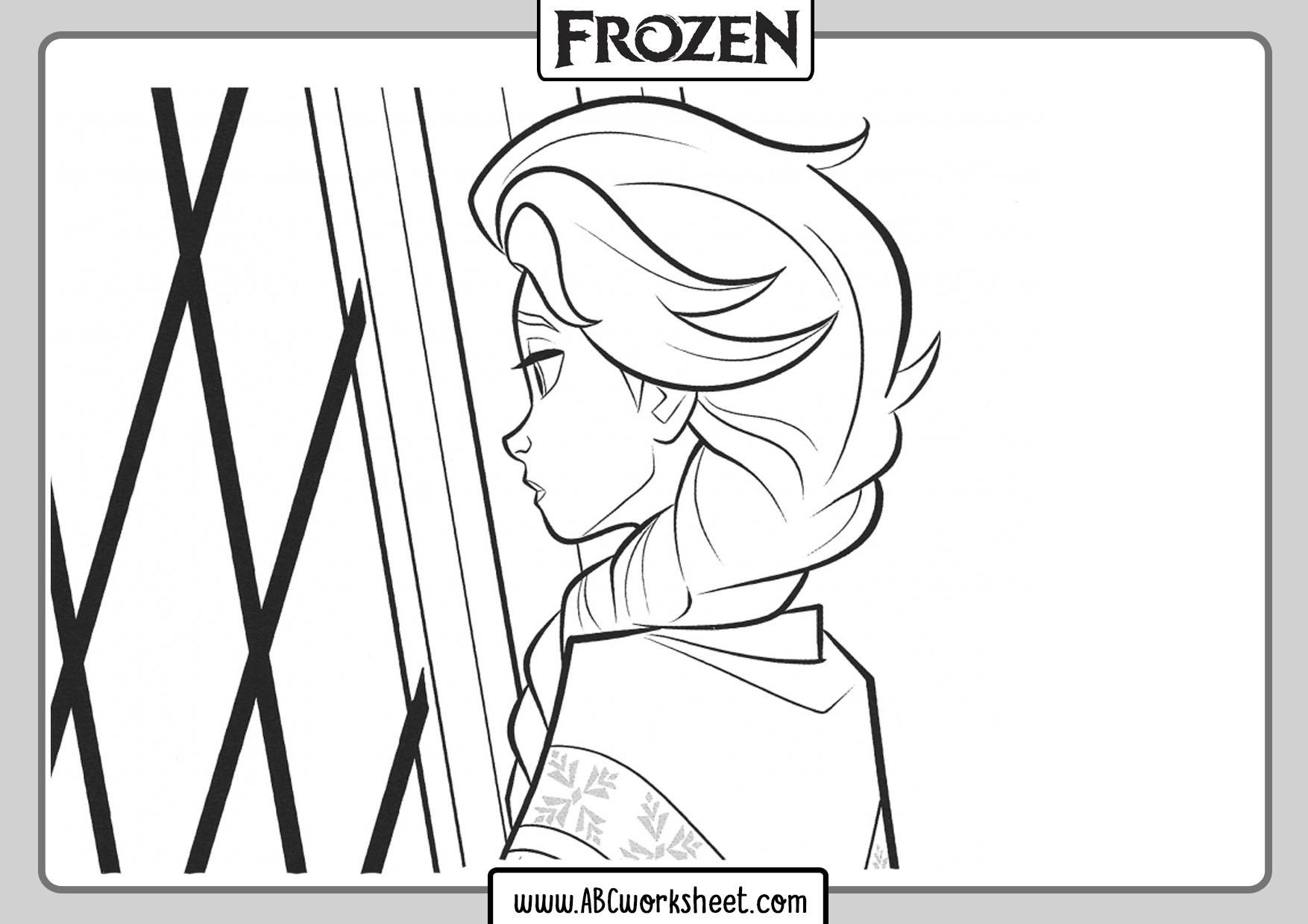 Coloring Pages Frozen 2