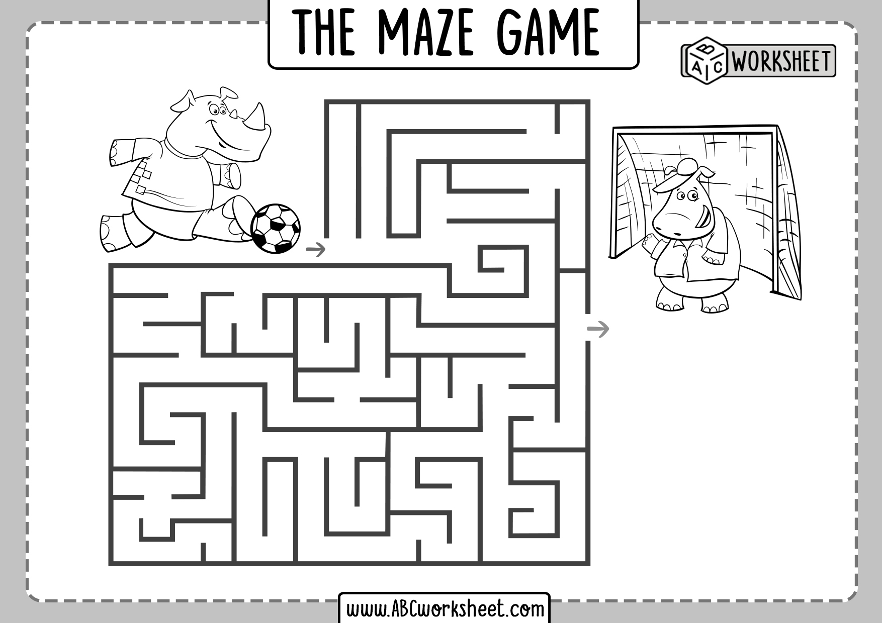 Easy Mazes For Kids