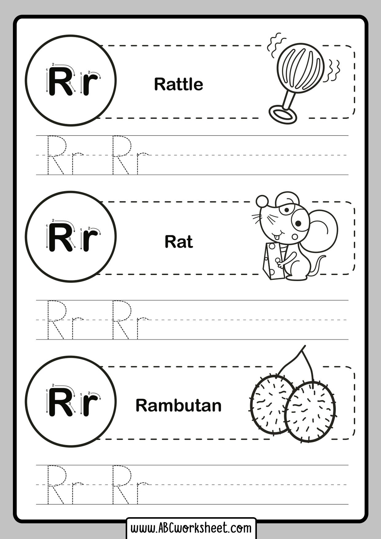 Kindergarten Tracing Alphablet