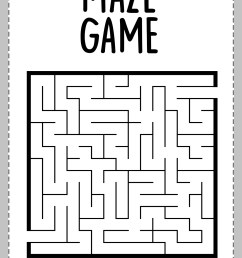 Maze Worksheet With Trophy   Printable Worksheets and Activities for  Teachers [ 1754 x 1240 Pixel ]
