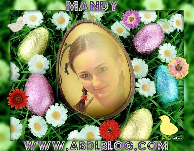 """Easter with Diaper Girl Mandy"""