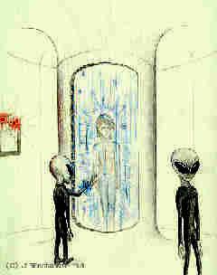 Image result for alien abduction art