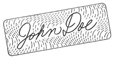 Signature Plates & EPROMS: Double signature plate @ Abe