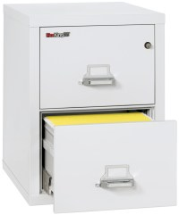 Fireproof Fireking 25 Vertical 2 Drawer Legal File Cabinet ...
