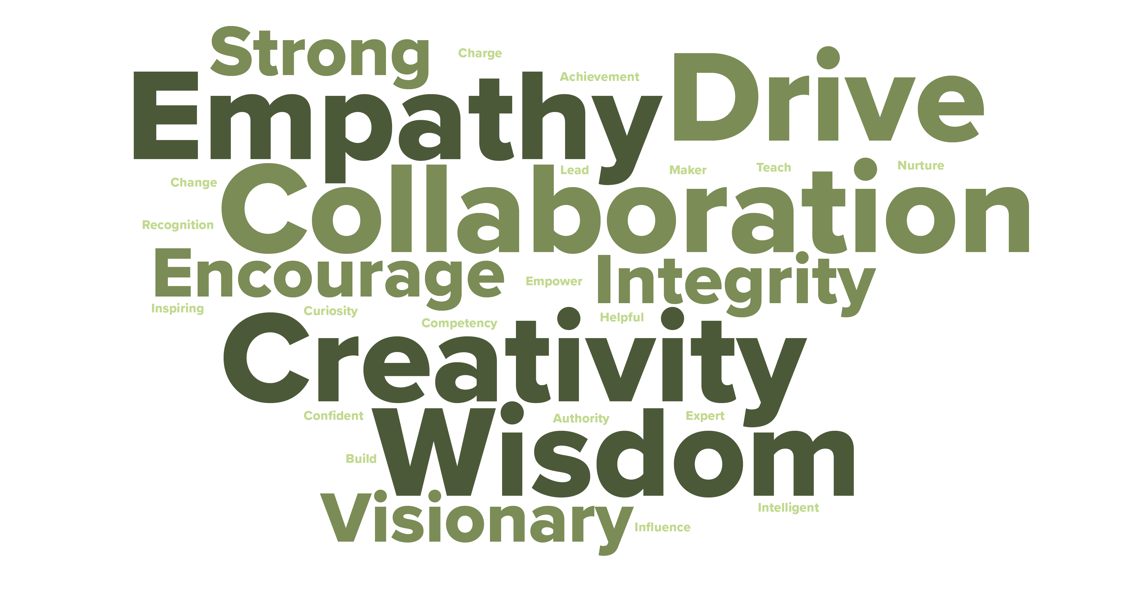leadership wordcloud