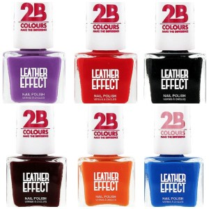 2B Colours Leather Effect Nail Polish