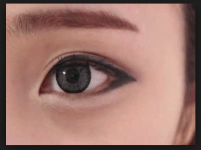 Ulzzang eye liner Korean