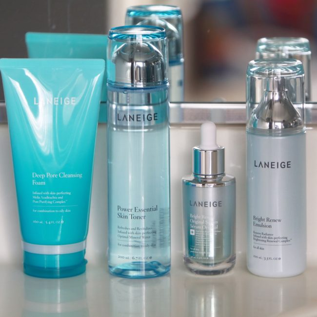Laneige beauty skincare products