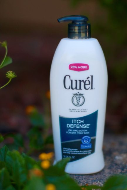 Curel Itch Defense Lotion with Ceramides