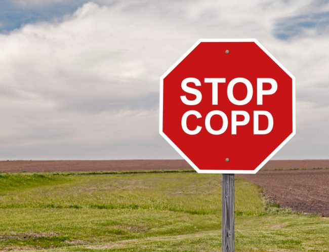 Breathing difficulty from COPD