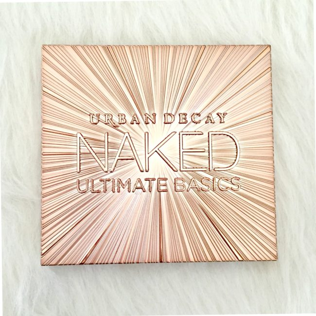 Urban Decay Naked Ultimate Basics Packaging