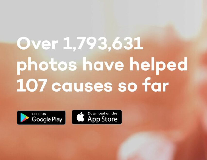 Donate a photo help causes