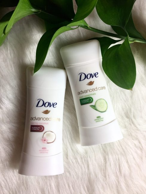 Dove antiperspirant benefits