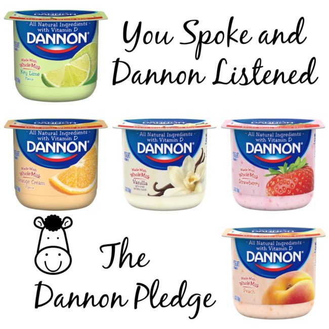 Dannon-Pledge