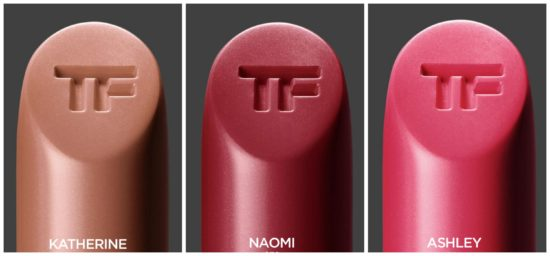 Tom Ford Girls swatches