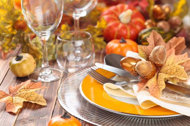 Reducing stress holiday meals
