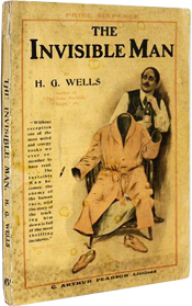AbeBooks The Visible Man The Rare Books of HG Wells