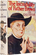 Father Brown created by G.K. Chesterton