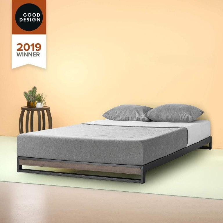 18 Beautifully Designed Low Profile Platform Bed Frames