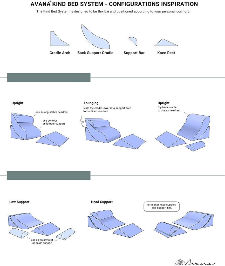 different-pillow-configurations