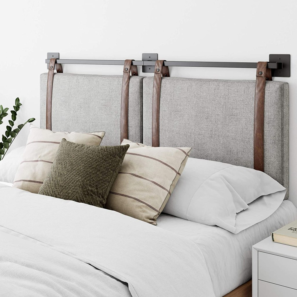 fabric-headboard-mounted