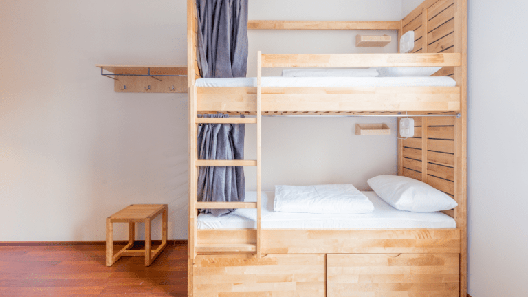 bunk-bed-mattresses-in-room