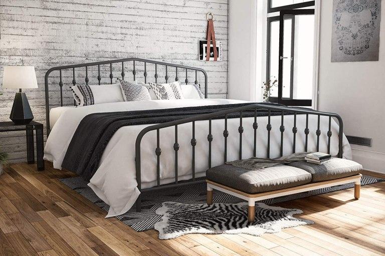 metal-bed-with-headboard-footboard