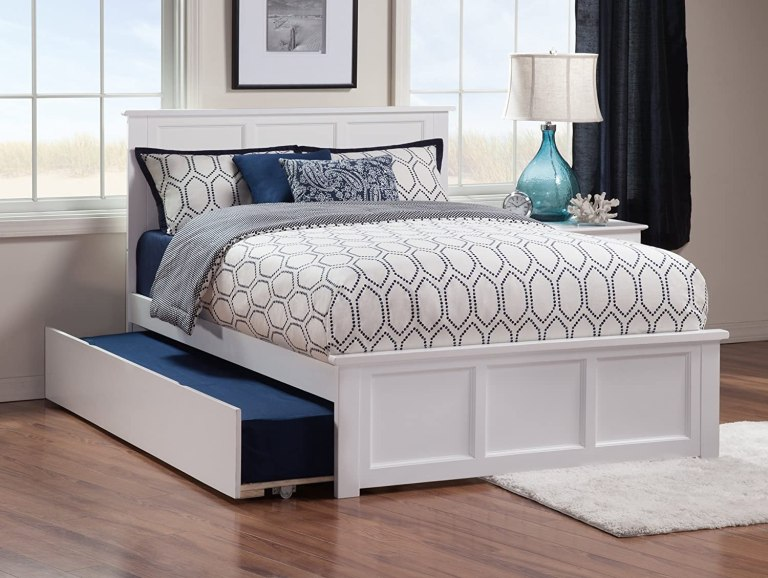 white-trundle-bed-queen